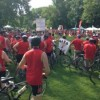 Ride For AIDS Raises $840,000. Participants Cycle For Change.