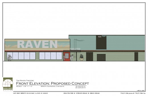 Raven Theatre Elevation