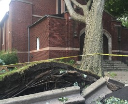Storms Hit Edgewater and Rogers Park Yesterday, Damage Caught In Photos