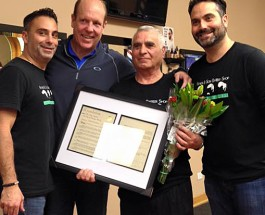 From Immigrant To Edgewater Success, Father & Son Barber's Owner Recognized By The City